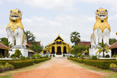 The walk to the palace of Burma Stock Image