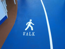 Walk track Royalty Free Stock Photography