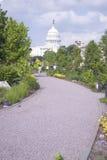 Walk through U.S. Botanic Gardens Royalty Free Stock Image