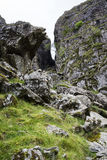 Walk up Y Garn Snowdonia North Wales UK. Stock Photography
