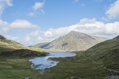 Walk up Y Garn Snowdonia North Wales UK. Royalty Free Stock Images