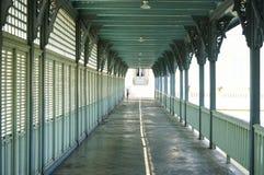 Walk way in bang pa-in palace Stock Photo