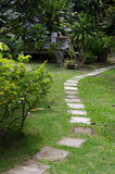 Walk way Stock Image