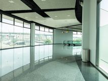 Walk way to Exhibition hall Royalty Free Stock Image