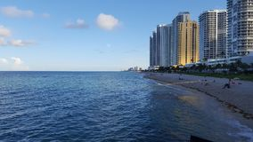 Sunny isles beach miami Royalty Free Stock Images