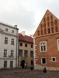 City of Krakow. Poland The landscape of ancient streets, Catholic cathedrals and medieval fortresses. royalty free stock photography
