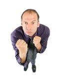 walka biznesowy mężczyzna Zdjęcie Stock