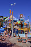 Walkabout Waters adventure play area in Aquatica water park Royalty Free Stock Photography