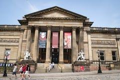 Walker Art Gallery, Liverpool, het UK stock afbeeldingen