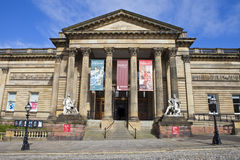 Walker Art Gallery in Liverpool Royalty Free Stock Image