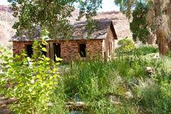 Walker Cabin in Escalante-Schlucht stockfoto