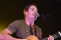 Walker Hayes. NEW YORK-DEC 16: Singer Walker Hayes performs in concert at PlayStation Theater on December 16, 2016 in New York City Royalty Free Stock Photography