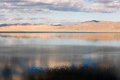Walker Lake Great Basin Western Nevada Mineral County Stock Afbeeldingen