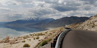 Walker lake in nevada Royalty Free Stock Image