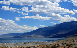 Walker Lake in Nevada. Walker Lake and Excelsior Mountains in Nevada Royalty Free Stock Photos
