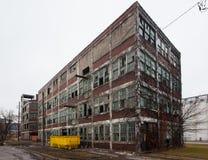 Walker Power Building Before Demolition e Remodling Fotografie Stock Libere da Diritti