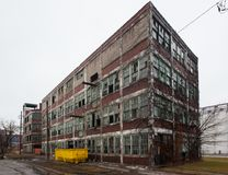 Walker Power Building Before Demolition and Remodling Royalty Free Stock Photos