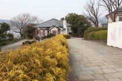 Walker Residence. Glover garden, Nagasaki, Japan Royalty Free Stock Photos
