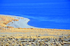 Walker See in Nevada Lizenzfreies Stockbild