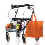 Walker Shopping Royalty Free Stock Photography