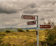 Walkers Signposts In Cork Stock Photography