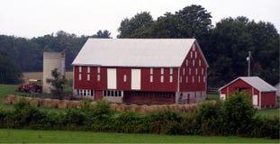 Walkersville, tierras de labrantío de Maryland Imagen de archivo libre de regalías