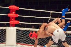 Walki bez reguł lub MMA Zdjęcia Royalty Free