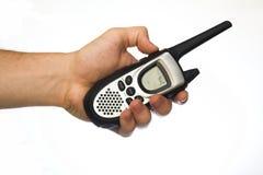 walkie för begreppsradiotalkie Fotografering för Bildbyråer