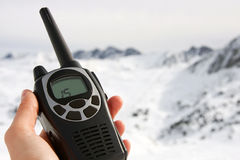 Walkie-talkie fotografia stock