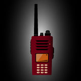 Walkie talkie Stock Illustrationer