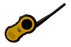 Walkie talkie. An isolated walkie talkie children's toy stock images