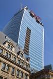 Walkie Talkie budynek w Fenchurch ulicie Zdjęcia Stock