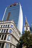 The Walkie Talkie Building in Fenchurch Street Stock Images