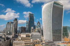 The Walkie Talkie Building in London Royalty Free Stock Images