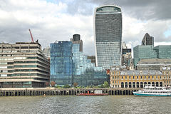 The Walkie Talkie Building London Stock Image