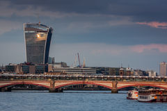 Walkie Talkie building Royalty Free Stock Images