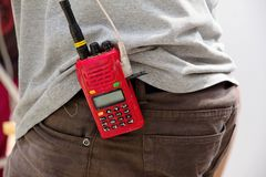 Walkie talkie Stock Photos