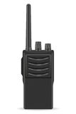 Walkie-talkie communication radio vector illustration Royalty Free Stock Image