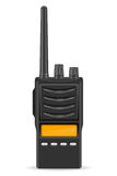 Walkie-talkie communication radio vector illustration Stock Photo