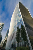 Walkie-talkie die Londen bouwen Hemeltuin Stock Afbeelding
