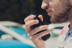 Walkie-talkie Royalty Free Stock Photos