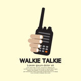 Walkie Talkie i hand Royaltyfria Foton