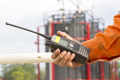 Walkie talkie for outdoor Stock Photography
