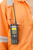 Walkie talkie for outdoor Royalty Free Stock Photo