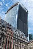 Walkie Talkie skyscraper london Royalty Free Stock Photo