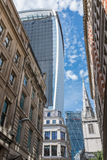 Walkie Talkie skyscraper london Royalty Free Stock Photos