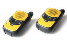 Walkie talkie on white background Stock Photography