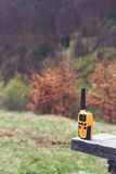 Walkie talkie in the wild Royalty Free Stock Images