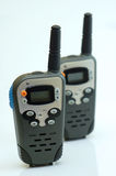 Walkie-talkies. Devices for wireless radio communication Royalty Free Stock Photography