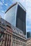 Walkie Talkieskyskrapa london Royaltyfri Foto